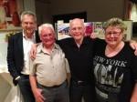 v.l. Bernd Hefter, Dieter Trutenat, Prof. Dieter Wurz, Johanna Feurer