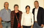 Der neue Vorstand v.l. Gerhard Trunz, Johanna Feurer, Katerina Tougaard, Bernd Hefter
