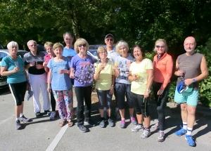 Walkingtest: Etappenziel zum Sportabzeichen