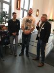 v.l. Markus Kohlöffel, Daniel Jasinski, Bernd Hefter