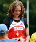 Leia Braunagel Siegerehrung Gold